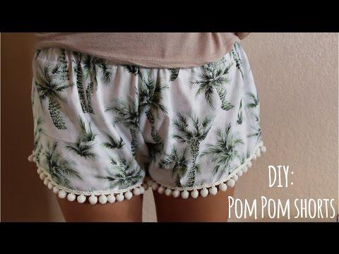 ❁ DIY | Pom Pom shorts ❁