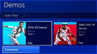 HOW YOU COULD GET FIFA 19 DEMO EARLY