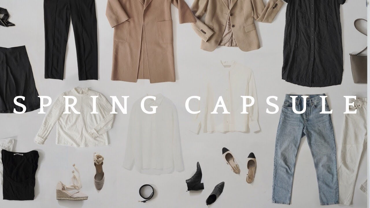 27 Pieces, Over 27 Outfits  Spring Capsule Wardrobe