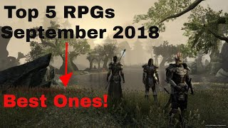 Top 5 Best New RPGs Of September 2018 | Best One