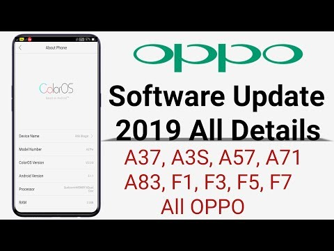 OPPO Software Update 2019 All Details All OPPO