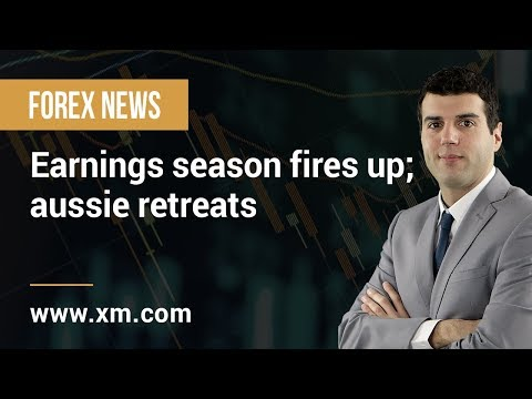 Forex News: 23/04/2019 - Earnings season fires up; aussie retreats