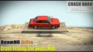BeamNG Drive - Crash Testing The Skoda Mod