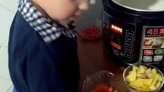 Как приготовить гороховый суп в мультиварке!