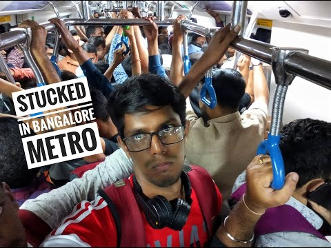 #bangalore Travel Experience In Namma Metro  Bangalore Diaries  Episode - 02  Vlog - 32 