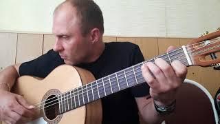 Ария-Беспечный ангел.Фингерстайл.Гитара