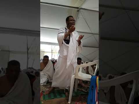 Khutbah wukuf Arafah jamaah haji Indonesia BTJ 08 Kab Aceh Besar dan Kota Banda Aceh
