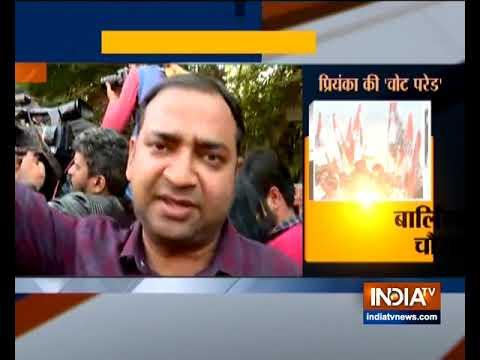 Priyanka Gandhi Vadra, Rahul Gandhi hold a mega roadshow in Lucknow | Highlights
