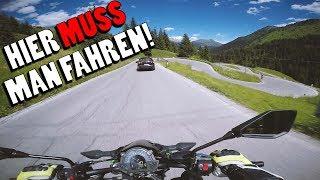 Diese Straßen muss jeder Motorradfahrer mal fahren! | Alpentour 2018