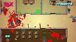 Hotline Miami 2 - Scene 23: Caught GRADE A+ Guide