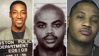 BUSTED! Basketball Players who went to JAIL