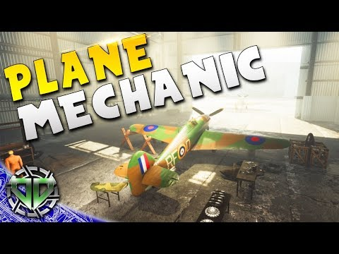 PLANE MECHANIC SIM : 303 Squadron: Battle of Britain Gameplay : PC Early Access