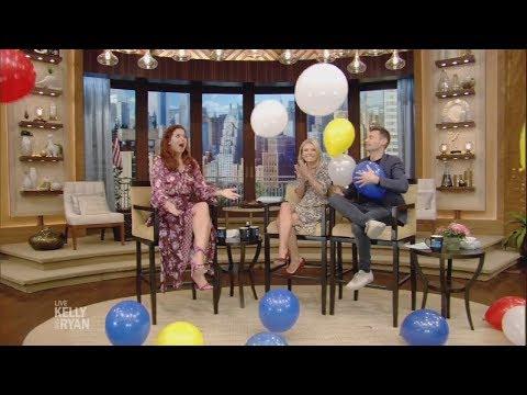Kelly & Ryan Celebrate Debra Messing's 50th Birthday