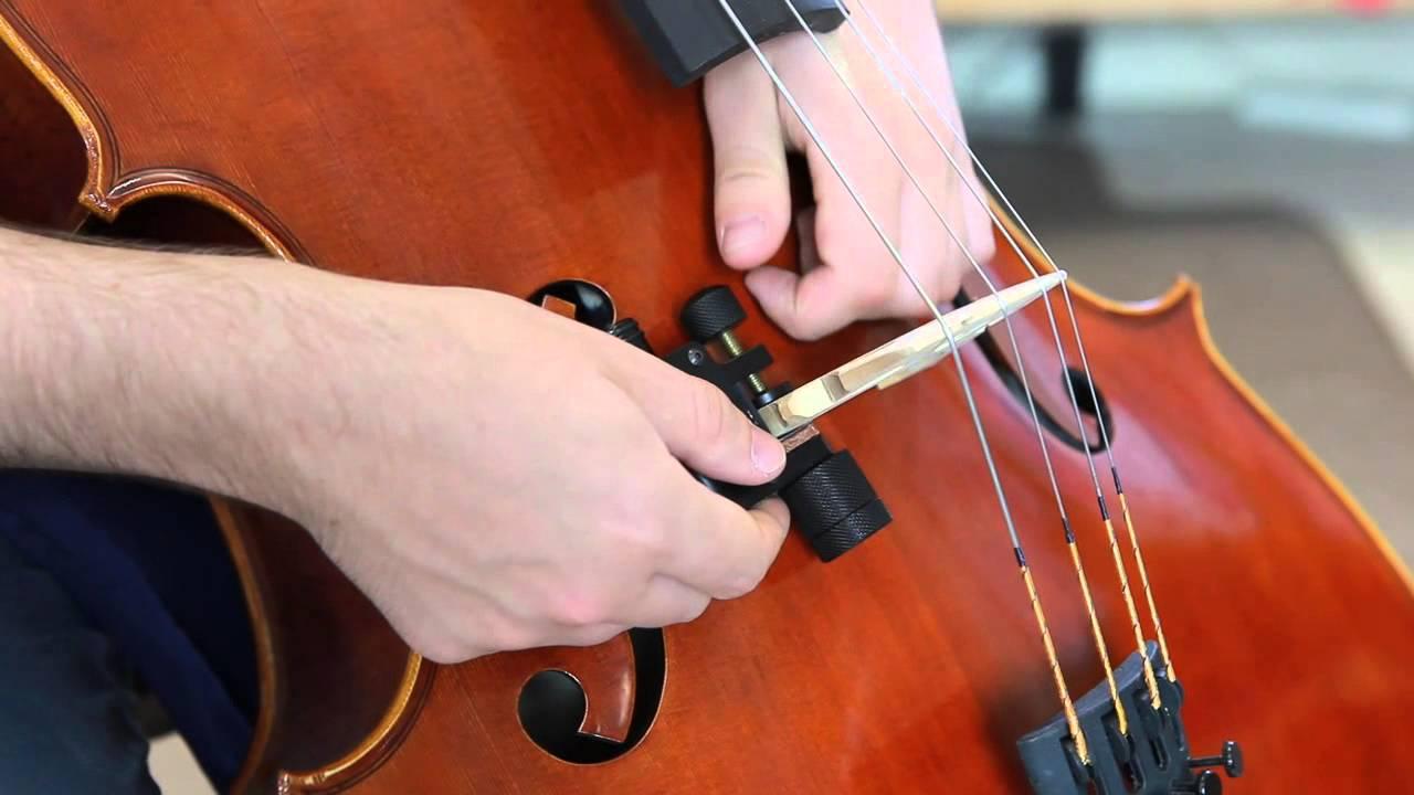 PiezoTonabnehmer für Kontrabass Cello