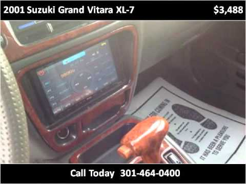 CrazyTheGod GRAND VITARA XL-7 04-06 SUV Clear Headlight Black for .