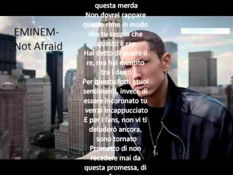EMINEM-Not Afraid (Traduzione Italiano)