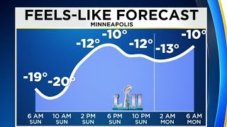 Super Bowl 2018: Minneapolis braces for freezing temps
