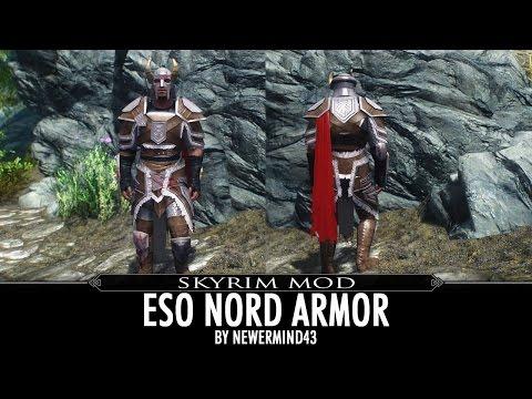 Skyrim Mod: ESO Nord Armor By Newermind43