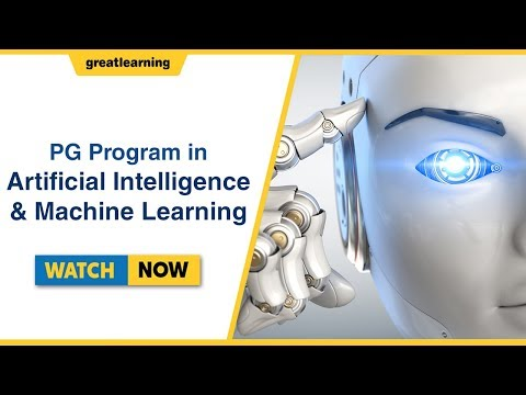 Post Graduate Program in Artificial Intelligence and Machine Learning