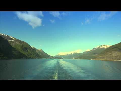 Auf der AIDA von Ulvik nach Eidfjord - Hardangerfjord Norwegen