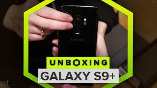 Galaxy S9 Plus unboxing: Everything you get