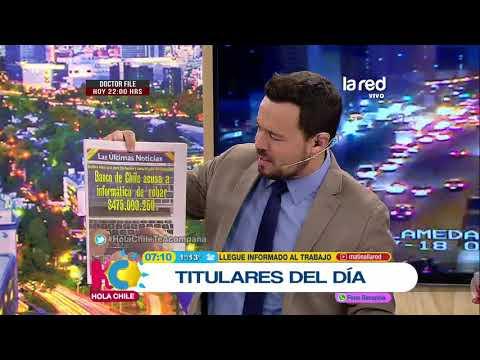 Hola Chile Programa Completo Jueves 19 de Julio 2018