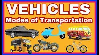 Vehicles Mode of Transport l Types of transportation 1st class evs