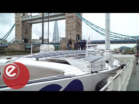 World's First Hydrogen Ship Hits London