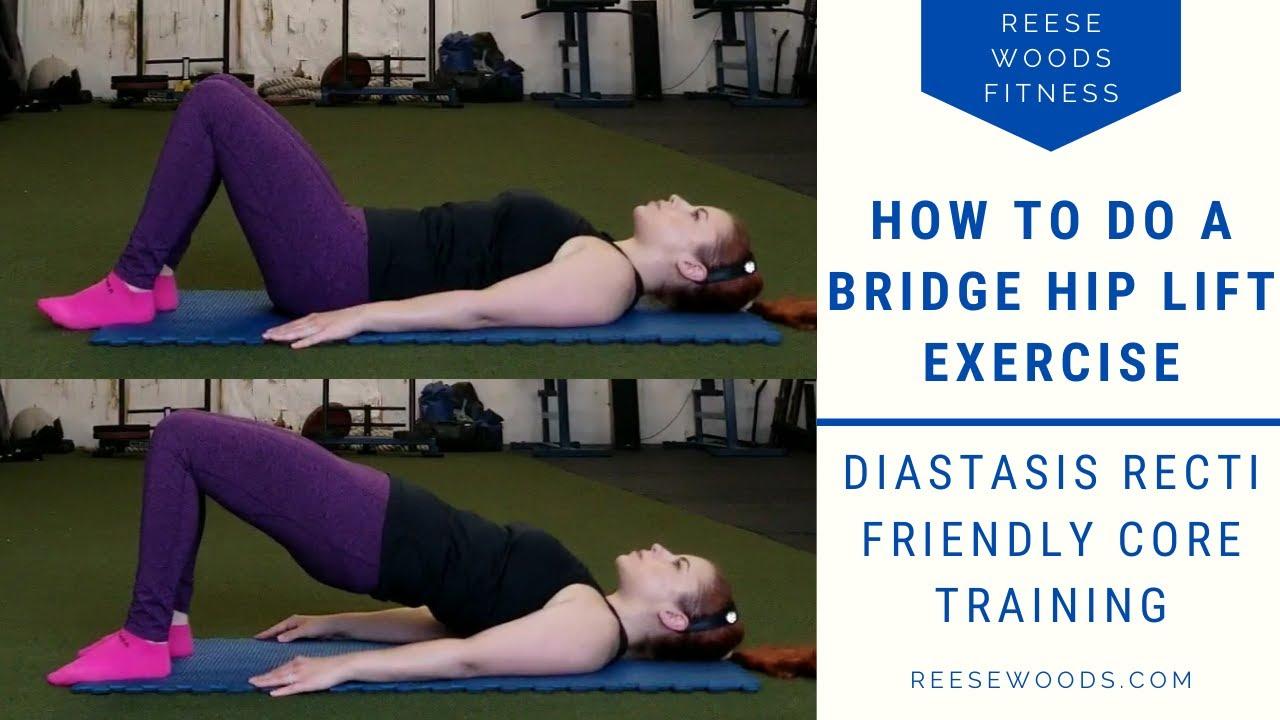 13 Healing Exercises For Diastasis Recti Reese Woods Fitness