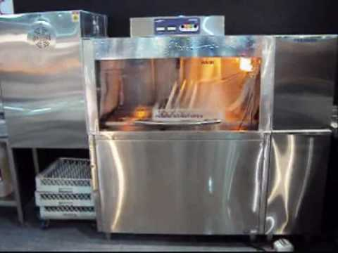 WASHMATIC CONVEYOR DISHWASHER OPERATION