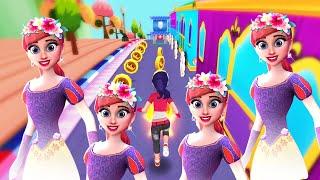Barbie Endless Running Game Princess Run 3D - Android Gameplay Video screenshot 5