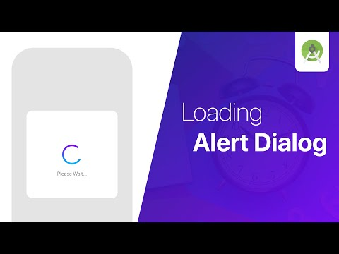 Custom Loading Alert