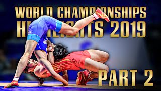 World championships 2019 Highlights  Part 2  | WRESTLING