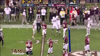 Texas A&M Highlights vs Alabama 11-10-2012 ᴴᴰ