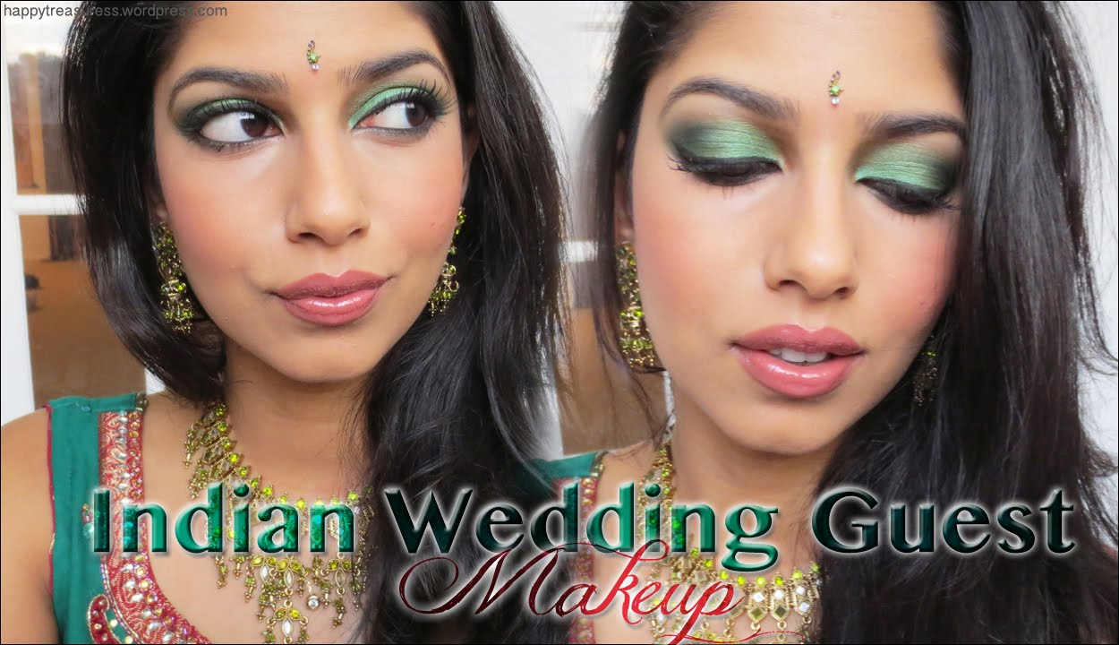 Wedding Guest Makeup Etiquette : Indian Wedding Guest Makeup! - YouTube