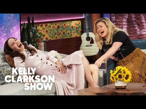 Whitney Cummings Runs Personality Test On Kelly And It Explains A Lot!