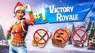 Winning a Game of Fortnite with 0 Materials