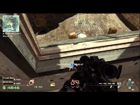 MW3 Survival: Gun Game challenge part 1: PISTOLS, SNIPERS & SHOTGUNS