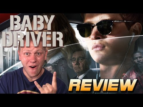 Baby Driver was FANTASTIC!!! - movie review