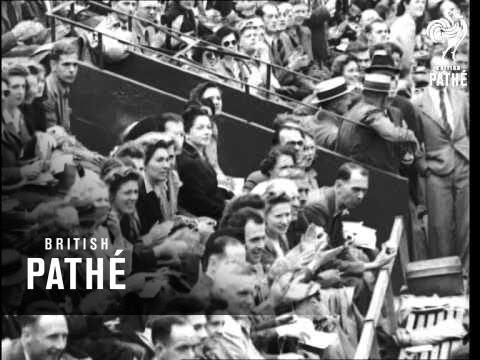 Wimbledon Tennis Stars In Final (1946)