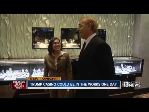Trump casino in Las Vegas could happen someday