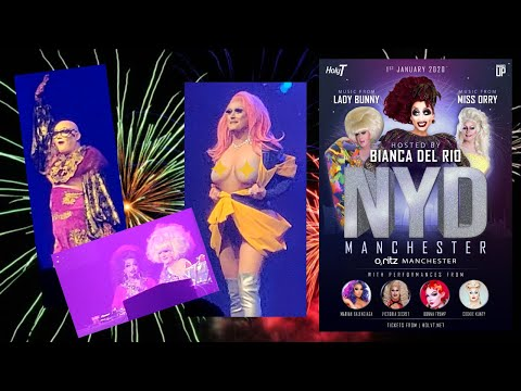 Holy T | NYD Manchester Hosted By Bianca Del Rio | O2 Ritz | Part 2