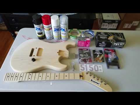 My Musikraft 5150 Replica Guitar Project!