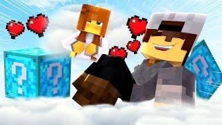 Minecraft: CORRIDA PVP - LUCKY BLOCK DOS SONHOS!