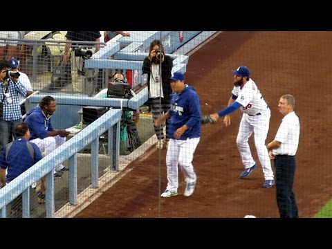 Security Guard Won't Protect Hyun-jin Ryu from Uribe 8-20-14