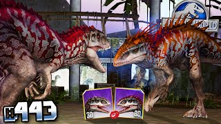 TAKING OUT A Lvl.80 INDOMINUS REX !!! || Jurassic World - The Game - Ep 443 HD
