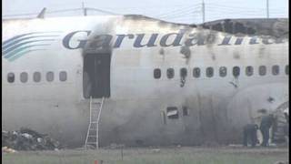 Garuda Indonesia DC-10 -30 Take-off Accident at Fukuoka Japan 6/13/1996