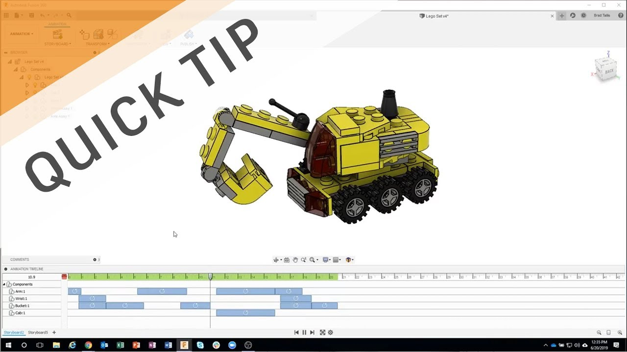 QUICK TIP: Simulate Movements with Animations