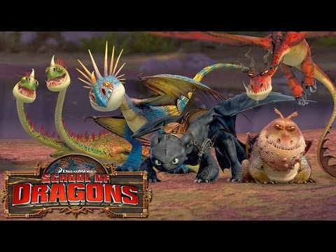 How to Train Your Dragon : School of Dragons #11 ' THE DEADLIEST NADDER!'