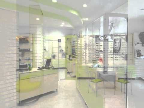 bar and shop design arredamenti per negozi di ottica youtube